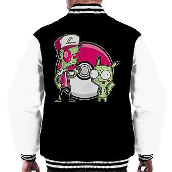 PoGIRmon Invader Zim Pokemon mannen Varsity Jacket