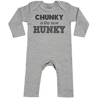 Spoilt Rotten Chunky Is The New Hunky Baby Footless Romper