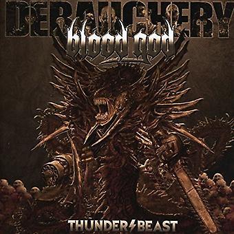 Debauchery vs Blood God - Thunderbeast [CD] USA import