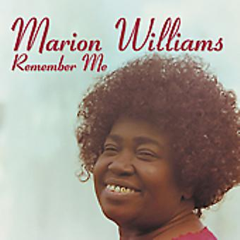 Marion Williams - Remember Me [CD] USA import