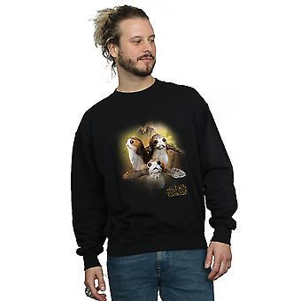 Star Wars mężczyzn ostatni Jedi Porgs szczotkowane Bluza