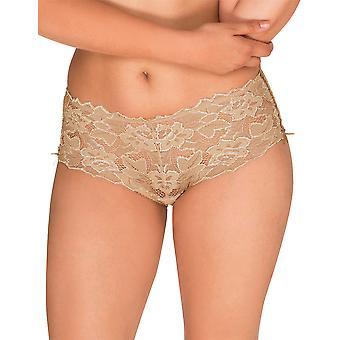 Sans Arum piel cordón Panty completo Highwaist breve Complexe 61564 mujeres