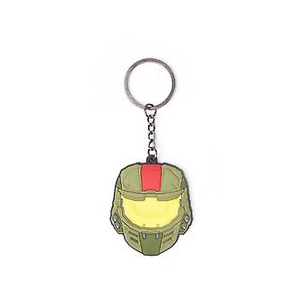 Halo Wars 2 Mask Pendant Rubber Keychain - Multi-Colour