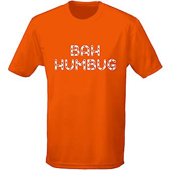 Bah Humbug Christmas Xmas Mens T-Shirt 10 Colours (S-3XL) by swagwear