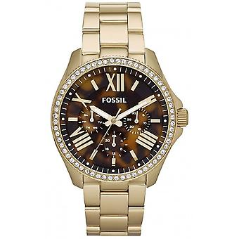 Fossil Ladies Watch Gold Tone AM4498