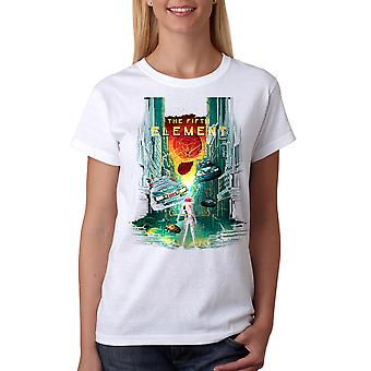 The Fifth Element 5th Element Women's White T-shirt