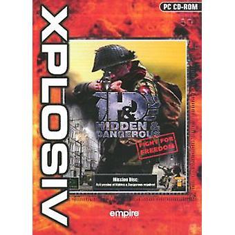 Dolda farliga kampen för frihet-Xplosive (PC CD)-ny