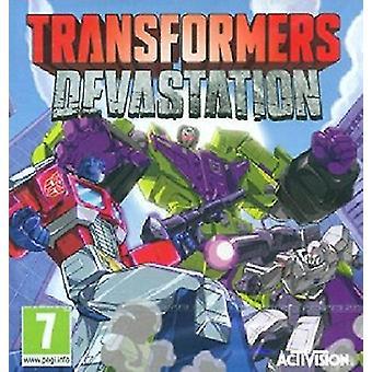 Transformers Devastation (Xbox 360) - As New