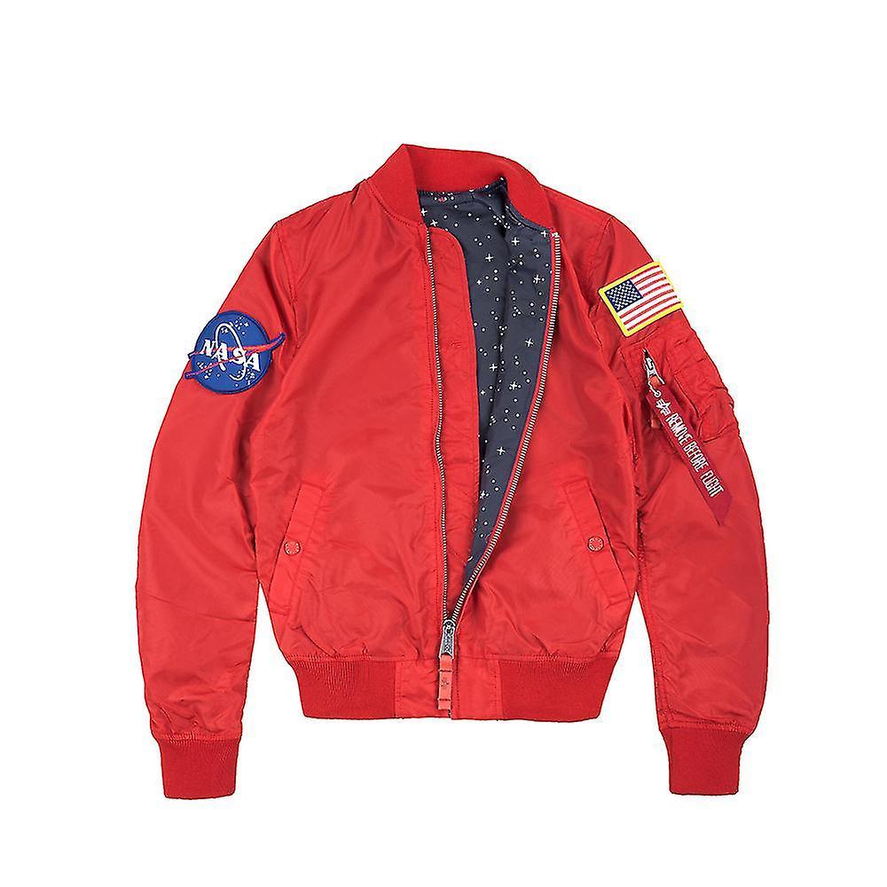 7005ef5e2 Alpha industries women's bomber jacket MA-1 NASA TT reversible Wmn