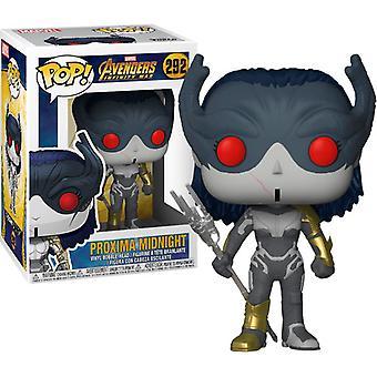 Funko POP Marvel - Avengers Infinity War Bobble-Head - Proxima Midnight Collectible Figure