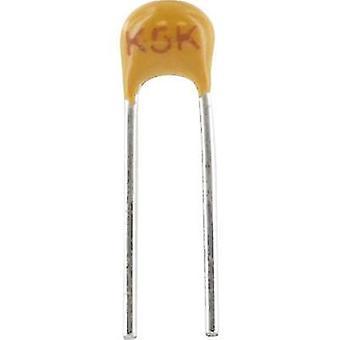 Kemet C315C102K1R5TA + קרמיקה קבל מוקדי להוביל 1 nF 100 V 10% (L x W x) 3.81 x 2.54 x 3.14 mm 1 pc (עם)