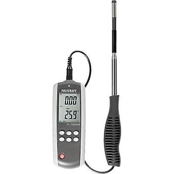 Anemometer VOLTCRAFT PL-135HAN 0.1 up to 25 m/s