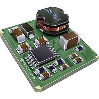 RECOM ROF-78 e 5.0-0.5 SMD-R DC/DC ממיר (רכיב) 12 V DC, 24 V DC 5 V DC 500 mA 2.5 W לא. של תפוקות: 1 x