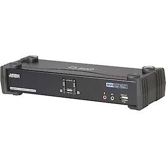 ATEN CS1782A-AT-G 2 ports KVM changeover switch DVI USB 2560 x 1600 p