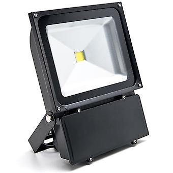 100W LED Flood Light White High Power Outdoor Spotlight Industrial Lighting Home Security Lighting Outdoor House Business Surveillance Safety Wall Washer High Building Billboard Garden