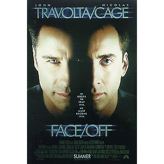 Cara/apagado poster John Travolta, Nicolas Cage