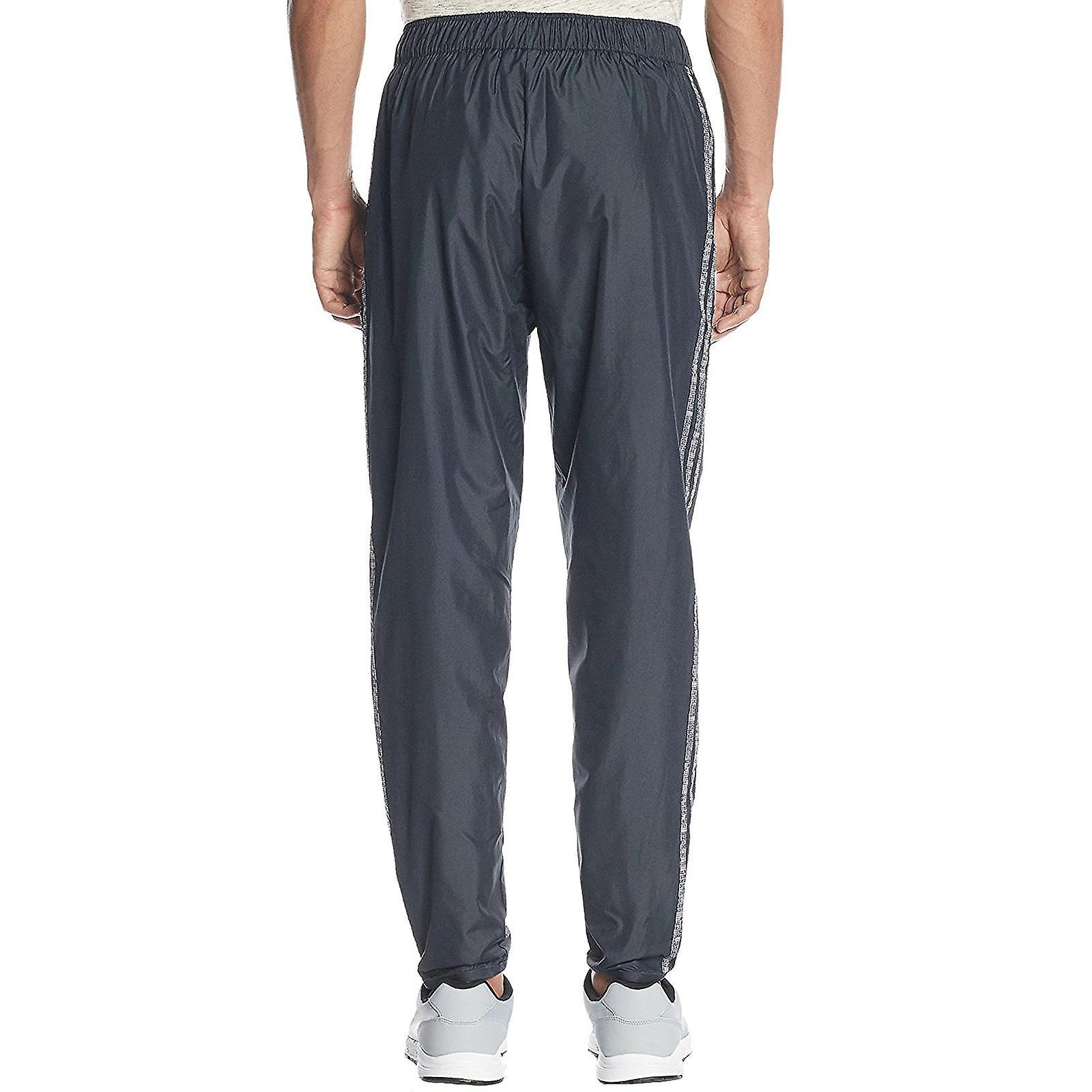 Adidas Originals Herren Trefoil Windpant Trainingsanzug Bottoms Jogger Hose grau