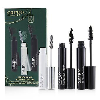 Mascara Kit: 1x Dare To Flair Mascara 1x Texalash Mascara 1x Swimmables Waterproof Mascara Topcoat - 3pcs