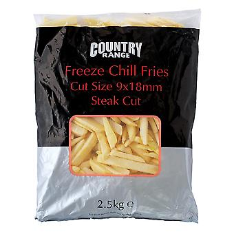Country Range Frozen Freeze Chill Steak Fries