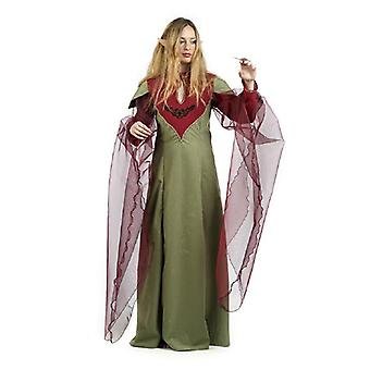 Elfe druide magicien Mage nain costume Lady Deluxe