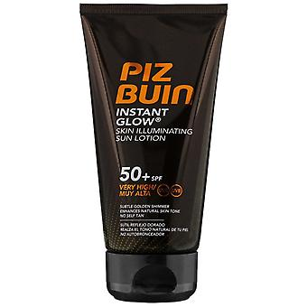 Piz Buin Instant Glow Skin Illuminating Sun Lotion SPF50 + 150ml
