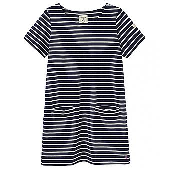 Joules Joules Quinn Womens Short Sleeve Simple Tunic With Front Pockets S/S 19