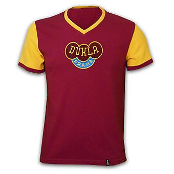 Dukla Prague 1960's Short Sleeve Retro Shirt 100% cotton