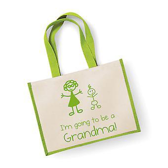 Mare verde iută bag I ' m mergi la a fi o bunica