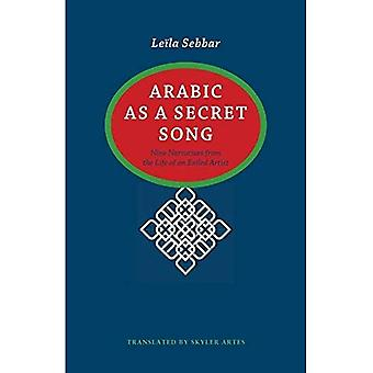 Arabic as a Secret Song: Nine Narratives from the Life of an Exiled Artist (CARAF Books: Caribbean and African...