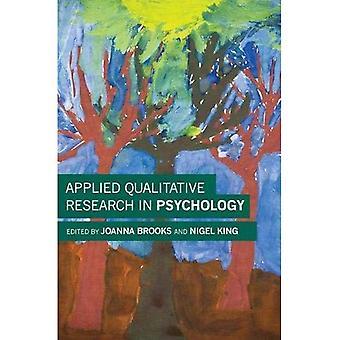 Investigación cualitativa en psicología aplicada