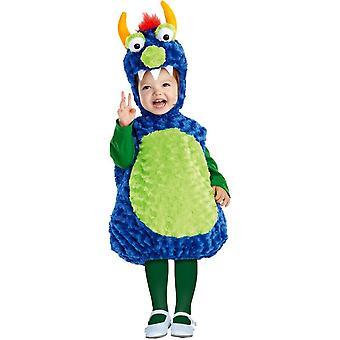 Costume enfant joli monstre