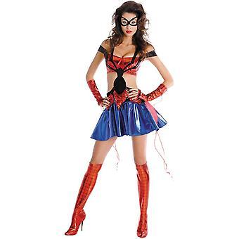 Ragno-ragazza sexy Costume adulto