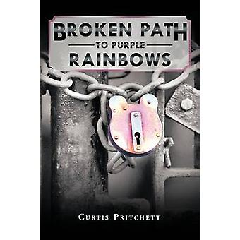 Chemin cassé Purple Rainbows par Pritchett & Curtis