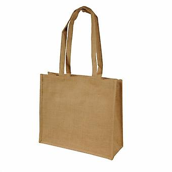 Shugon Calcutta lange steel Jute Shopper tas (20 liter) (Pack van 2)