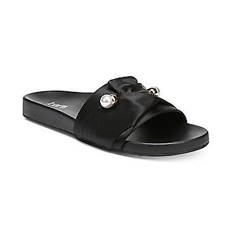 Bar III Womens Ravyn Fabric Open Toe Casual Slide Sandals