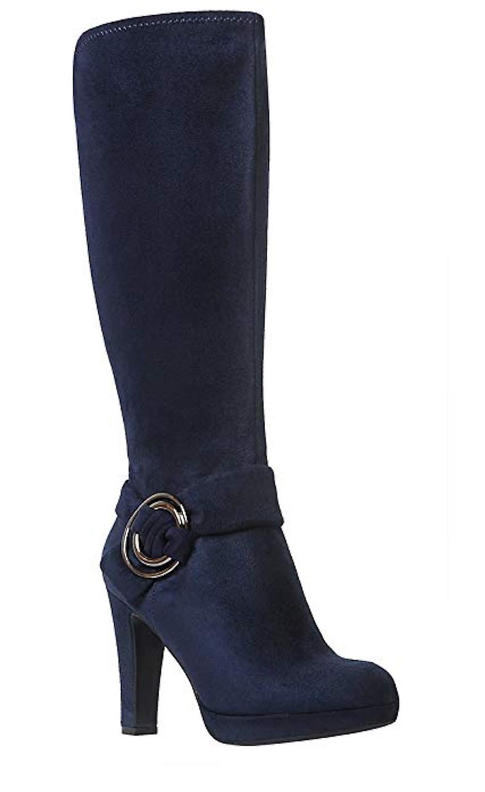 Impo Womens Owen Fabric Round Toe Knee High Fashion Boots