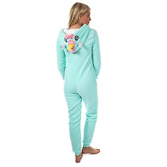 Donne Brave Anima Donne Unicorn Onesie in Menta