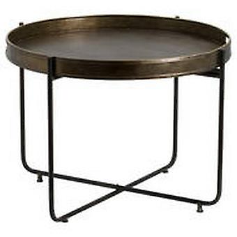 Antique Bronze Tray With Stand