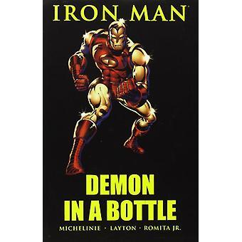 Iron Man - Demon In A Bottle by John Romita - 9780785120438 Book
