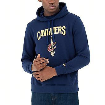 New Era Fleece Hoody-NBA Cleveland Cavaliers navy