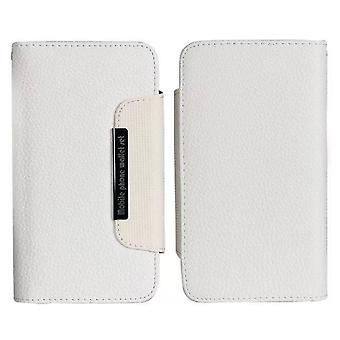 Wallet Case/Magnet shell for Samsung S5/S5 Neo, White