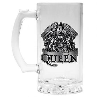 Queen Glass Tankard