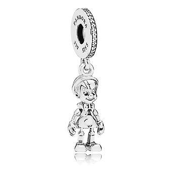PANDORA-Disney-Pinocchio Dangle-Charme - 797489CZ