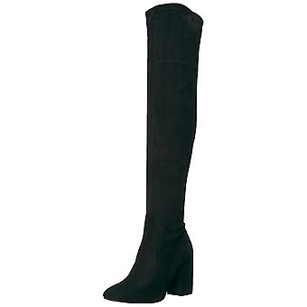 Kenneth Cole New York Women's Carah Knee High Tall Stretch Engineer Boot