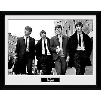 The Beatles i London inramade Collector Print 40x30cm