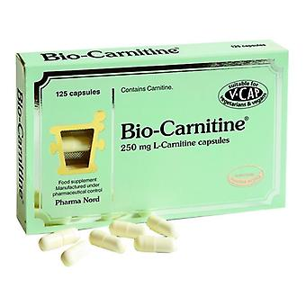 PharmaNord Bio-Carnitina 250mg Caps 125