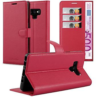 Cadorabo Case for Samsung Galaxy NOTE 9 Case Cover - Phone Case with Magnetic Closure, Stand Function and Card Case Compartment - Case Cover Case Case Case Case Book Folding Style