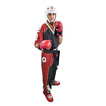 Top 10 arco Kickboxing uniforme preto/vermelho/branco