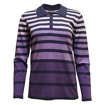 LEBEK Lebek Indigo Sweater 35880019