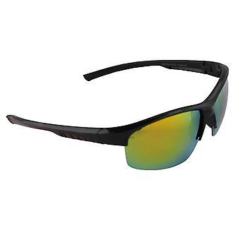 サングラス スポーツ 長方形偏光ガラス ブラック イエロー 多色 FREE BrillenkokerS330_2